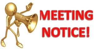 April Board Meeting