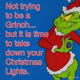 time to take down christmas lights - When To Take Down Christmas Lights